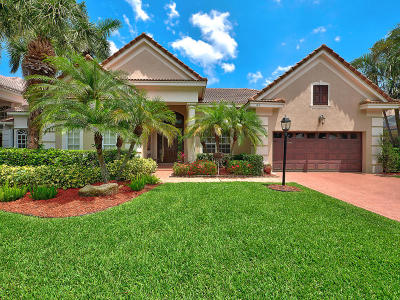 Palm Beach Gardens Single Family Home For Sale: 145 Oakwood Lane