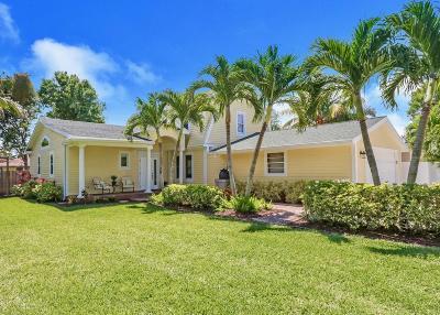 Jupiter Single Family Home For Sale: 715 Warren Drive