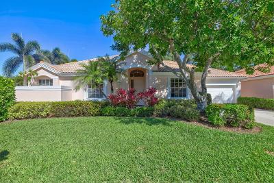 Palm Beach Gardens Single Family Home For Sale: 274 Eagleton Estates Boulevard