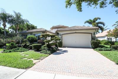 Boynton Beach Single Family Home For Sale: 11548 Pamplona Boulevard