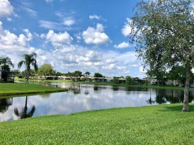 Boca Raton Single Family Home For Sale: 9214 Flynn Circle #7