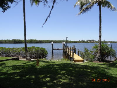 Port Saint Lucie Single Family Home For Sale: 3341 SE River Vista Drive SE