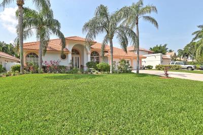 Boca Raton Single Family Home For Sale: 6109 Vista Linda Lane