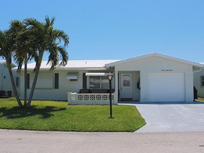 Boynton Beach Single Family Home For Sale: 2088 SW 13th Terrace