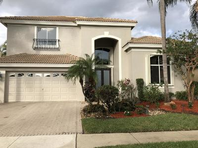 Boca Raton Single Family Home Contingent: 5639 Regency Circle W