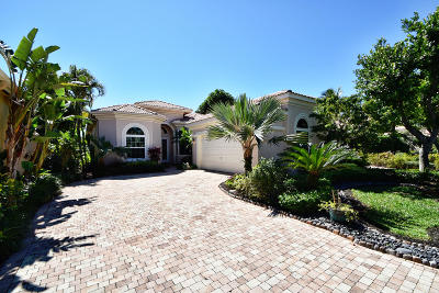 Delray Beach Single Family Home For Sale: 7848 Trieste Place