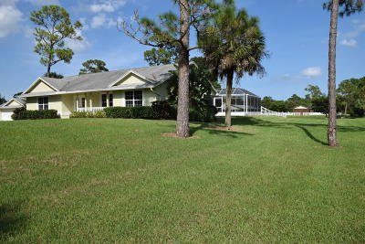 Palm Beach County Single Family Home For Sale: 3000 A Road