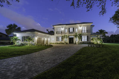 Palm Beach Gardens Single Family Home For Sale: 8056 Native Dancer Road E