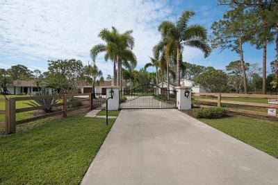 West Palm Beach Single Family Home For Sale: 14851 Black Bear Road