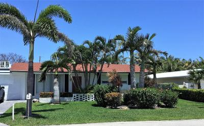 Palm Beach Shores Rental For Rent: 225 Inlet Way