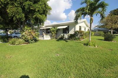 Boynton Beach Single Family Home For Sale: 901 SW 3rd Avenue