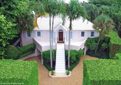 Palm Beach FL Single Family Home For Sale: $4,990,000