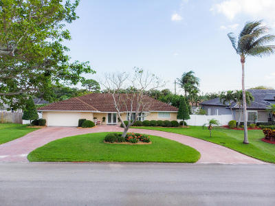 Delray Beach Single Family Home Contingent: 3130 Sherwood Boulevard