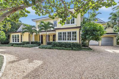 Palm Beach FL Single Family Home For Sale: $5,995,000