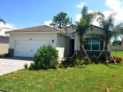 Stuart Single Family Home For Sale: 7591 SW Harbor Cove Drive