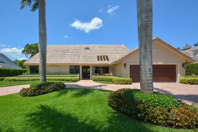 Boca Raton Single Family Home For Sale: 17758 Foxborough Lane