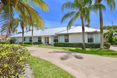 Tequesta Single Family Home For Sale: 153 SE Turtle Creek Drive