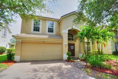 Palm Beach Gardens Single Family Home For Sale: 215 Lone Pine Drive
