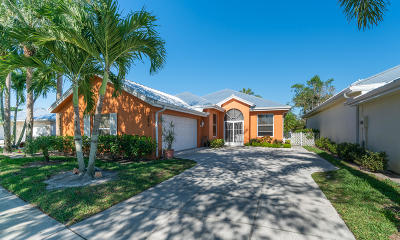 Palm City Single Family Home For Sale: 2879 SW Brighton Way