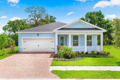 Vero Beach Single Family Home For Sale: 1745 Willows Square