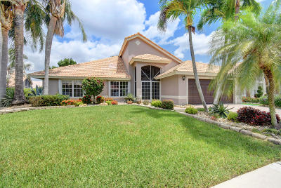 Boynton Beach Single Family Home For Sale: 7317 Amber Falls Lane