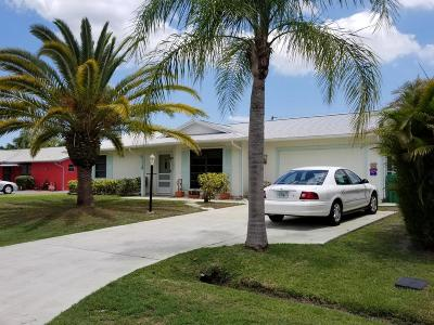 Port Saint Lucie Single Family Home For Sale: 1119 SW Curtis Street