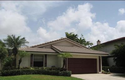 Boca Raton Single Family Home For Sale: 6450 Pond Apple Road