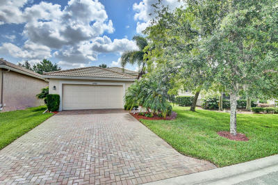 Boynton Beach Single Family Home For Sale: 10582 Stone Garden Drive