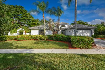 Delray Beach Single Family Home For Sale: 2821 Hampton Circle W
