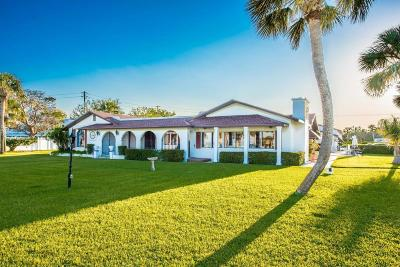 Fort Pierce Single Family Home For Sale: 6005 S Indian River Drive