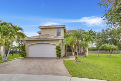 Greenacres Single Family Home Contingent: 5502 Monte Fino Court