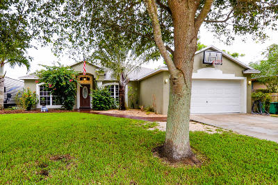 Port Saint Lucie FL Single Family Home For Sale: $279,900