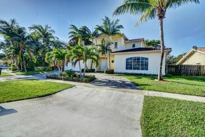 Boca Raton Single Family Home For Sale: 22218 Hollyhock Trail
