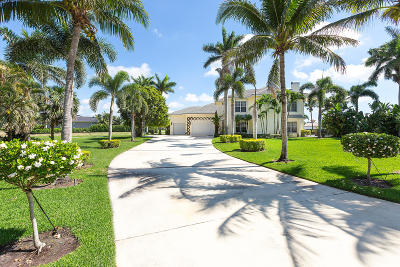 Palm Beach County Single Family Home For Sale: 15875 Britten Lane