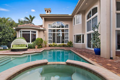 Palm Beach Gardens Single Family Home For Sale: 629 Hermitage Circle