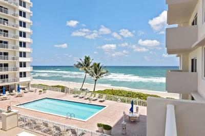 Highland Beach Condo For Sale: 3221 S Ocean Boulevard #208