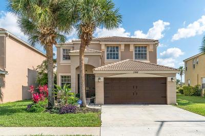Royal Palm Beach Single Family Home For Sale: 1146 Oakwater Drive