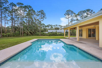 Jupiter Single Family Home For Sale: 13391 153rd Road