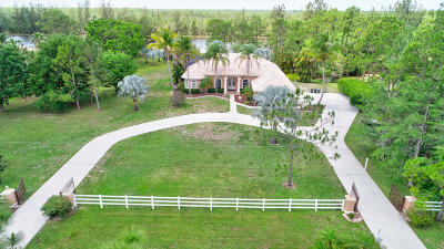 Lake Worth Single Family Home For Sale: 6401 Duckweed Road