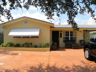 Lantana Single Family Home For Sale: 1020 Garnett Street