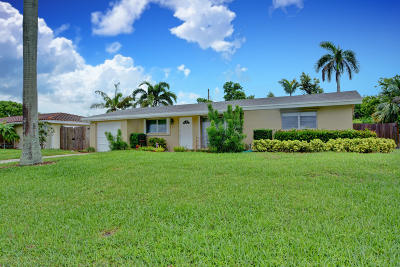 Boca Raton Single Family Home For Sale: 455 NE 34th Street