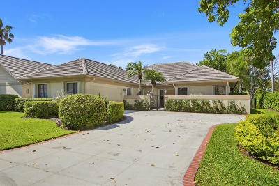 Palm Beach Gardens Single Family Home For Sale: 147 Coventry Place