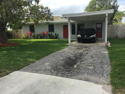 Delray Beach Single Family Home For Sale: 1129 SW 8th Street