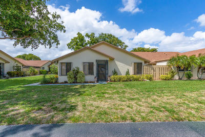 Delray Beach Single Family Home Contingent: 3010 NW 12th Street #A