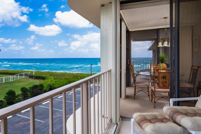 Palm Beach Condo For Sale: 3200 S Ocean Boulevard #B302