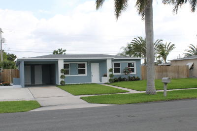 Palm Springs Single Family Home For Sale: 144 Riley Avenue
