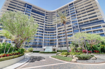 Highland Beach Condo For Sale: 4740 S Ocean Boulevard #707