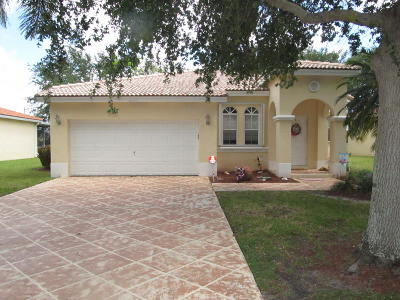 Coconut Creek Single Family Home For Sale: 4245 NW 39th Place
