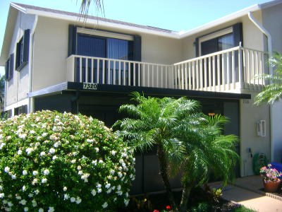 Hobe Sound Townhouse For Sale: 7320 SE Concord Place