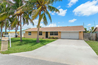 Lake Worth Single Family Home For Sale: 3431 Palomino Drive